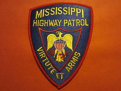 Collectible Mississippi Highway Patrol Patch, New