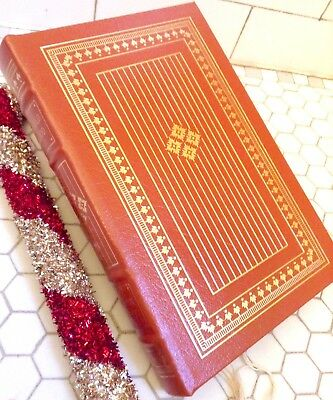 IN COLD BLOOD Easton Press LEATHER Greatest Book 20th Century COLLECTORS New Lux