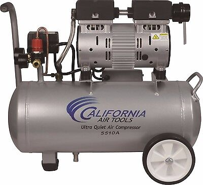 CALIFORNIA AIR TOOLS 5510A Ultra Quiet & Oil-Free Air Compressor