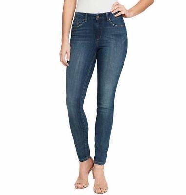 NWT Jessica Simpson Women's High Rise Skinny Jean Night Wash Soft Sculpt