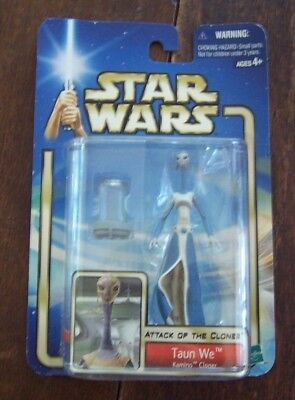 Star Wars Attack of the Clones Taun We Kamino Cloner Figurine