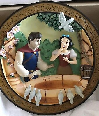Disney 3D Snow White: Love's First Glance,60th Anniversary Limited Edition #295