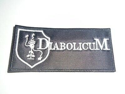 Diabolicum Industrial Black Metal Embroidered Patch