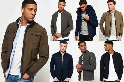 New Mens Superdry Jackets Selection - Various Styles & Colours 08102018