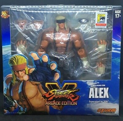 STORM COLLECTIBLES Street Fighter V: Alex Arcade Edition (SDCC 2018)