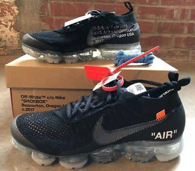 NIKE AIR VAPORMAX Off-White Black Deadstock Off White Vapor Max