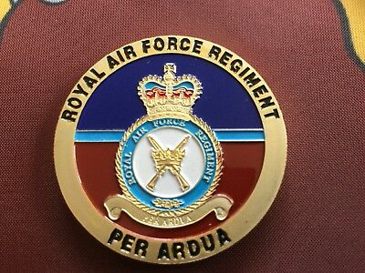 RAF Regiment Challenge Coin