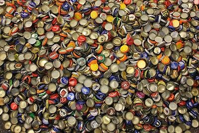500 Mixed Beer Bottle Caps Great Colors All Have Dents Clean No Gunk Free Shipng