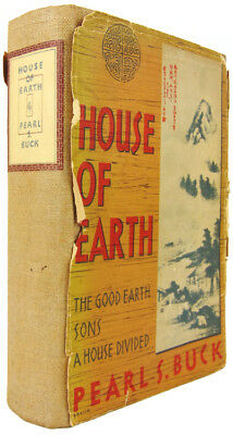 Pearl S. Buck / House of Earth The Good Earth Sons A House Divided / Signed
