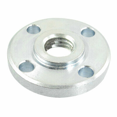 Silver Tone Angle Grinder Round Clamp Inner Outer Flange for DCA150