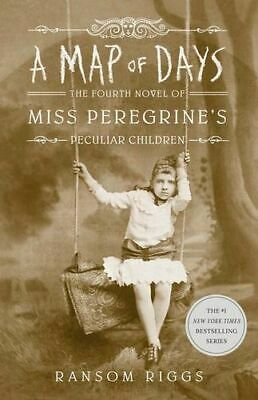 NEW A Map of Days By Ransom Riggs Paperback Free Shipping