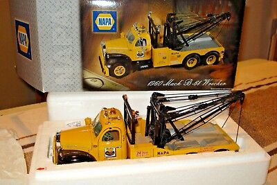 1960 Mack B-61 Wrecker, Napa 1/25 First Gear, New, ***priced For Quick Sale!***