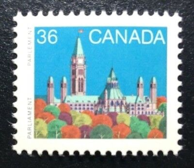 Canada #926B HP MNH, Parliament Buildings Definitive Stamp 1987