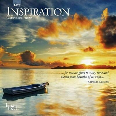 NEW Inspiration 2019 Mini Wall Calendar Mini Wall Calendar Free Shipping
