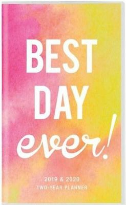 NEW Best Day Ever 2019 & 2020 Two Year Planner Diary Free Shipping