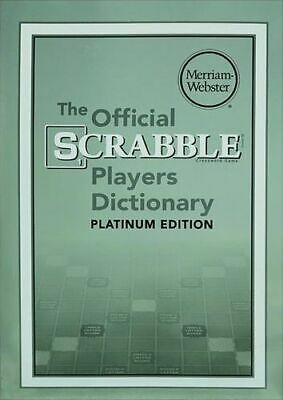 NEW The Official Scrabble Players Dictionary  By Merriam-Webster Paperback
