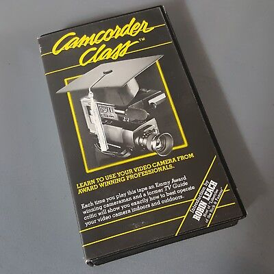 Camcorder Class How To Use Your Camcorder VHS Robin Leach.