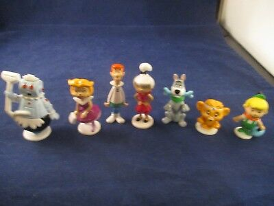 The Jetsons Applause PVC 7 Figure Lot Set George Jane Judy Elroy Rosie Astro