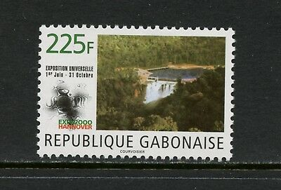 Gabon 2000 #971 waterfalls 1v. MNH L803