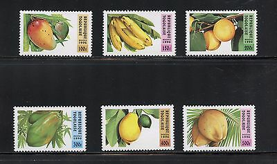 Togo 1996 #1743-8 flora fruit bananas peaches 6v. MNH I387