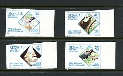 Senegal 1996 #1209-12 birds IMPERF 4v. MNH L584