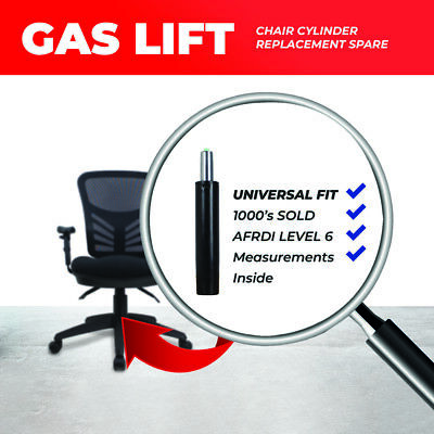 Universal Gas Lift Office Chair Cylinder Strut Pneumatic Lifts Ergonomic Chairs