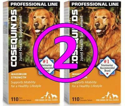 Cosequin DS 220 ct (110 x 2) Joint Supplement for Dogs Maximum Strength