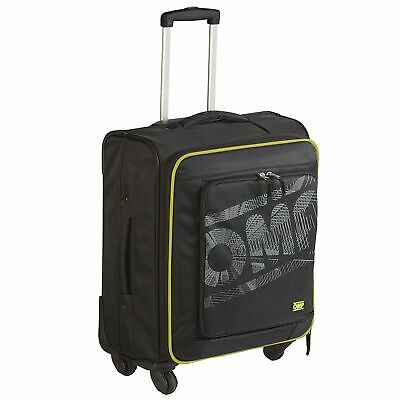 OMP Motorsport / Competition Compact Flight Hand Luggage Trolley Bag - Black