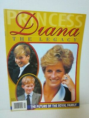 Princess Diana Legacy Magazine #1 1997 Future of the Royal Family William Harry