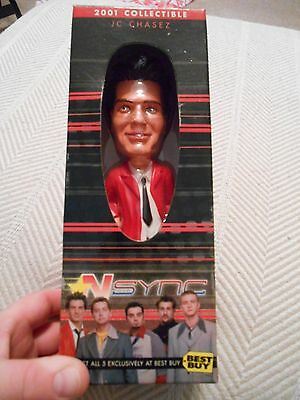 JC Chasez Exclusive 2001 BEST BUY Collectible Bobble Head, NSYNC
