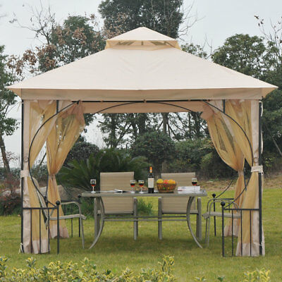 Outsunny 10 Ft. W x 10 Ft. D Metal Patio Gazebo OTSU1452