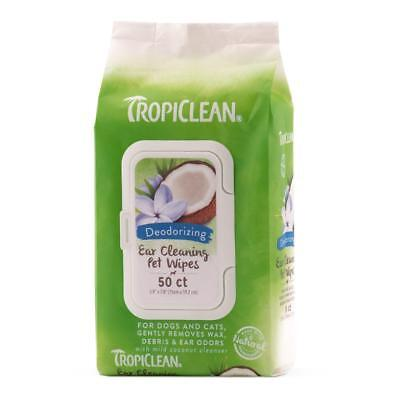 Pet Cat Dog Ear Cleaning Wipes 50 Per Pack