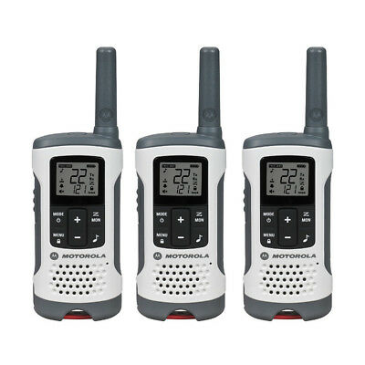 T260TP White Rechargeable 2-Way Radio Triple Pack