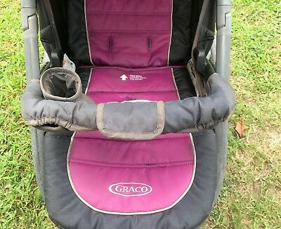 Child's SAFETY BAR & CUP HOLDER for Graco FastAction Fold - No Stroller