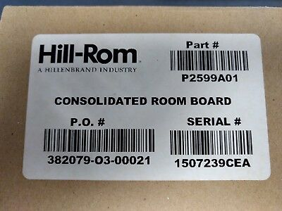 P2599A01 Hill-Rom NCM Consolidated Room Board