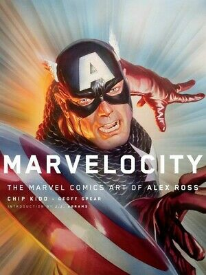 Marvelocity: The Marvel Comics Art of Alex Ross [New Book] Hardcover