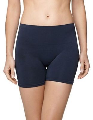 Yummie by Heather Thomson 5007 Womens Navy Blue Seamless Shaping Shorts Size M/L