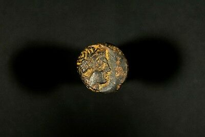 Ancient Greek AE Philip II Coin King of Macedonia Horse Apollo Olympic Games