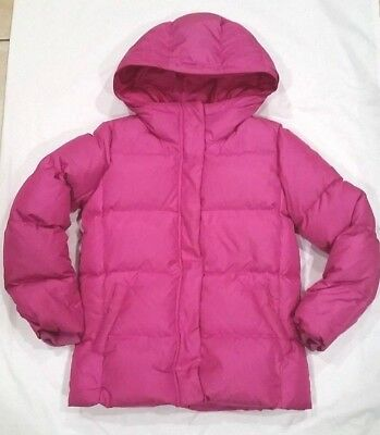 Girls Pink Puffer Jacket by GapKids/Hooded/Size XXL 14-16