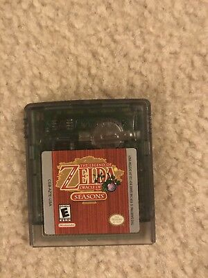 Gameboy Color The Legend Of Zelda Oracle Of Seasons Game Only
