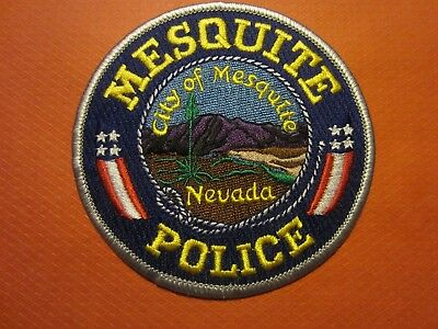 Collectible Nevada Police Patch, Mesquite, New