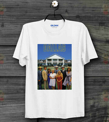 Dallas 80s Classic Tv Series J R  Retro CooL Vintage Unisex T Shirt B187