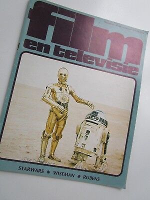 """STAR WARS /// CLIPPING!!! Cover Article and Pictures  """"Film en televisie""""   1977"""