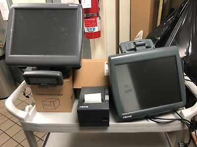 Micros Work Station 5A Workstation 5A WS5A  WS5  POS Terminal x2