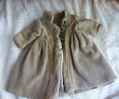 Baby doll Child's Dress Coat taupe