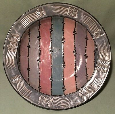 Large Pottery Bowl By Cunningham Pottery