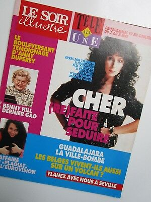 CHER   ///   CLIPPING!!!  Cover and Artikel wit beautifull Pictures  1992