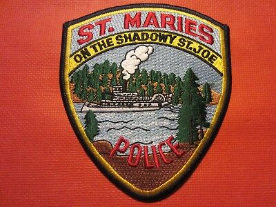 Collectible Idaho Police Patch, St. Maries, New
