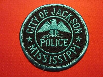 Collectible Mississippi Police Patch, Jackson, Capital City, New