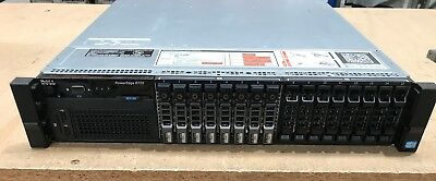 Dell PowerEdge R720 Dual Xeon E5-2650v2 192GB RAM 8x 300GB 15k SAS IN WARRANTY